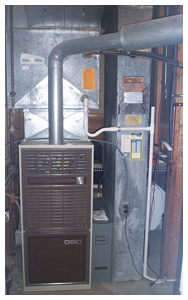 Residential Furnace - Original Unit to be removed for high efficiency unit